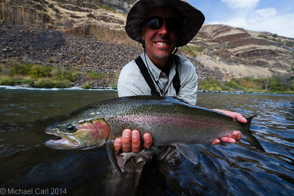 The ecological angler fly fishing lower deschutes river for Deschutes river fishing report