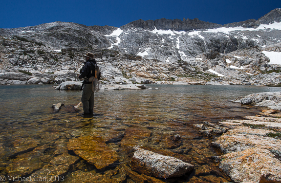 The ecological angler fly fishing high sierra nevada lakes for Sierra fly fishing