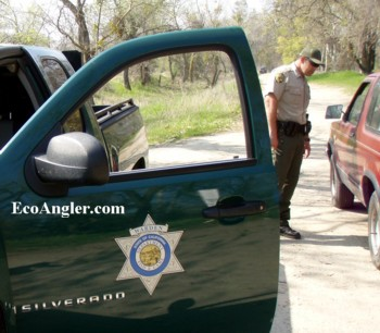 Department Fish  Game on Game Warden Patrol Lower Kings Crop350text Jpg