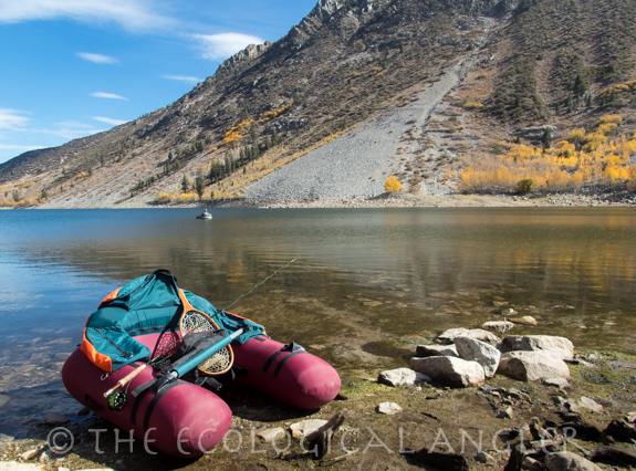The ecological angler fly fishing lundy lake sierra nevada for Canyon lake fishing ca