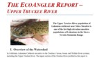 The EcoAngler Report - Upper Truckee River