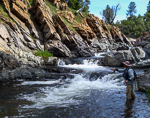 Fly Fishing Sierra Nevada Small Stream