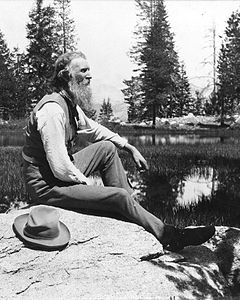 John Muir in the Sierra Nevada