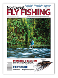Northwest Fly Fishing Magazine November December 2017 Cover