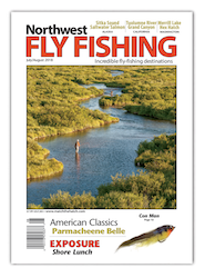 Northwest Fly Fishing Magazine July 2018 Cover