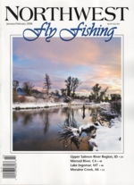 Northwest Fly Fishing Magazine Cover