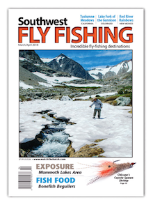 Southwest Fly Fishing Magazine March April 2018 Cover