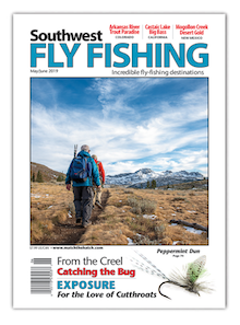 Southwest May June 2019 Fly Fishing Magazine Cover