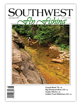 Southwest Fly Fishing Magazine Cover