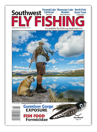 Southwest September 2015 Fly Fishing Magazine Cover