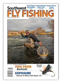 Southwest September October 2017 Fly Fishing Magazine Cover
