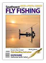 Southwest January February 2019 Fly Fishing Magazine Cover