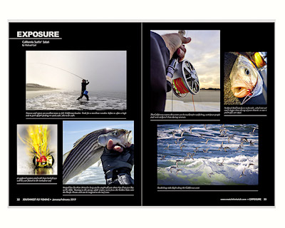 Southwest Fly Fishing Exposure Photo Essay on California Surf Fishing