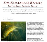 The EcoAngler Report - Little Kern Golden Trout
